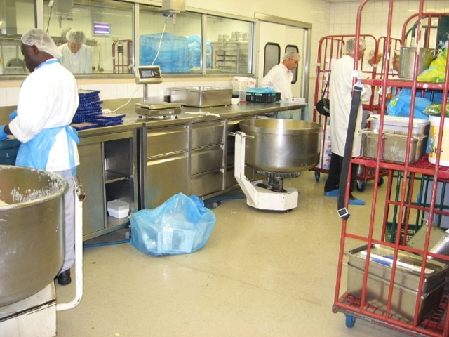 Fußboden In Großküchen ~ Großküche und kantine u held industrieboden